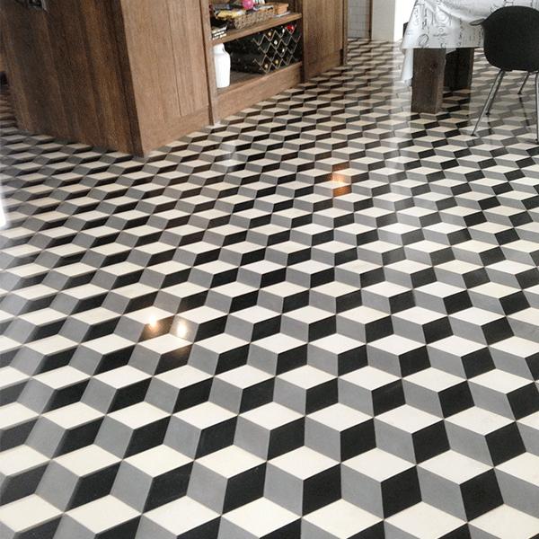 mosaicosbarcelona abrillantado de pavimento hidraulico