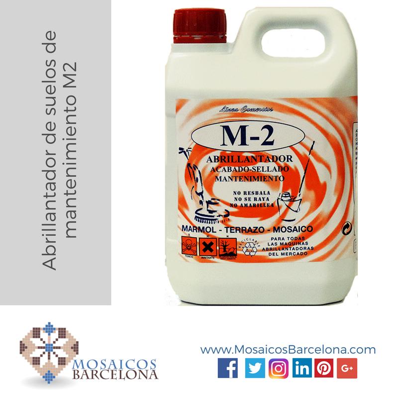 MosaicosBarcelona | Abrillantador de suelos de mantenimiento M2