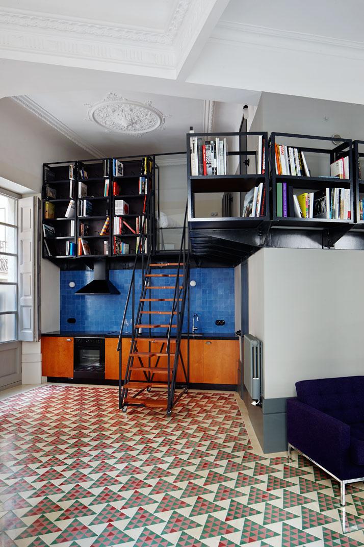 Carrer-Avinyó-Apartamento-de-David-Kohn-Architects-en-Barcelona-5