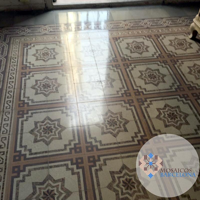 Mosaicos-Barcelona-hidraulico-restaurado-en-piso-de-Barcelona