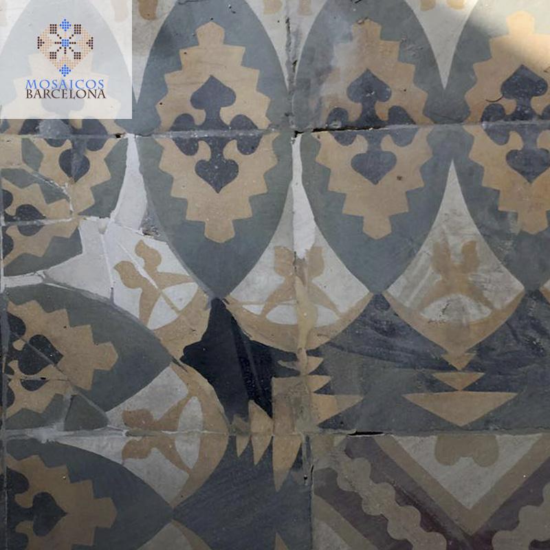 MosaicosBarcelona-Suelos-hidraulicos-restaurados-en-vivienda-de-Barcelona