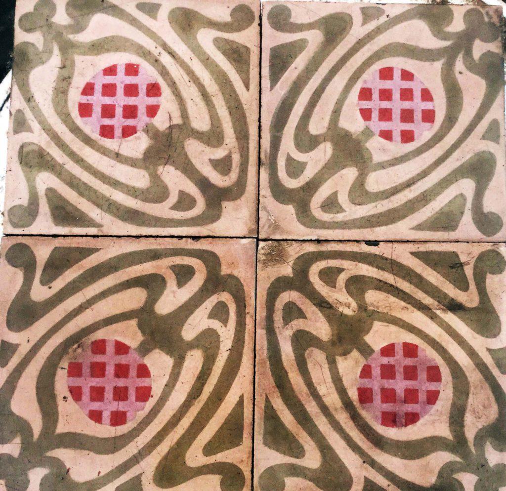 Mosaicos Barcelona | Mosaico Hidraulico recuperado modelo 382 ...