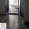 Limpieza, abrillantado y acristalado de suelo hidráulico en vivienda de Barcelona